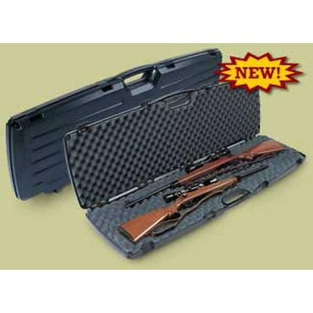 Plano Gun Guard Se Series Double Scoped Rifle Shotgun Case  Black