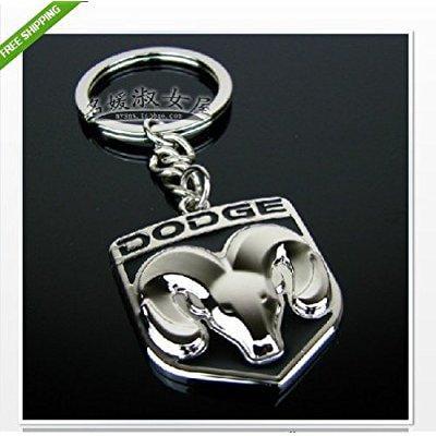 Nba Logo Keychain (makarine dodge logo metal keychain key ring caravan caliber journey viper ram jcuv neon )