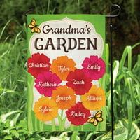 Her Garden Personalized Garden Flag