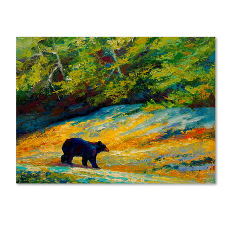 - Trademark Fine Art 'Beach Lunch Black Bear' Canvas Art by Marion Rose