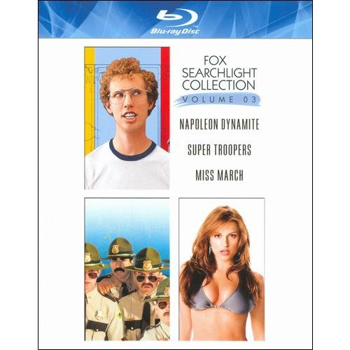 Fox Searchlight Spotlight Series, Vol. 3: Super Troopers / Miss March / Napoleon Dynamite (3-Disc) (Blu-ray) (Widescreen)