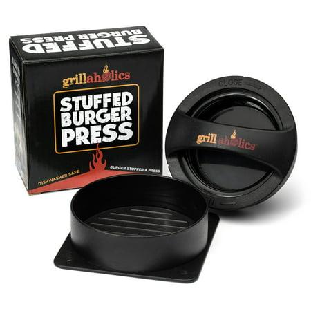Grillaholics Stuffed Burger Press & Hamburger Patty Maker