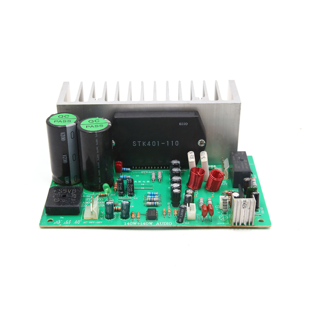 DC 24V-32V 140W 6Ohm Hi-Fi Audio Stereo Power Amplifier Board for Motorcycle Car