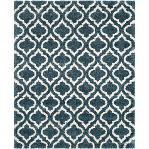 Safavieh Hudson Louise Geometric Shag Area Rug by Safavieh