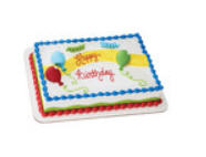 Cake Decoration Gum Paste Balloons- Assorted Primary Colors