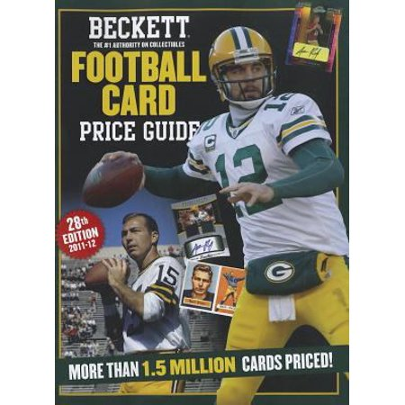 Beckett Football Card Price Guide - Walmart com