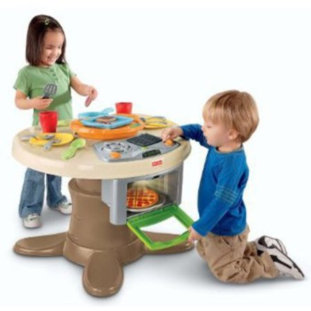 Fisher-Price Servin\' Surprises Kitchen and Table