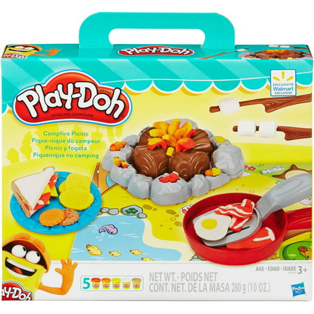 Play doh campfire picnic food set for Play doh cuisine