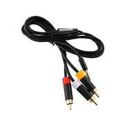 Microsoft 3.5mm to RCA Composite AV Cable for Xbox 360 Gaming Console (Non-Retail Packaging)