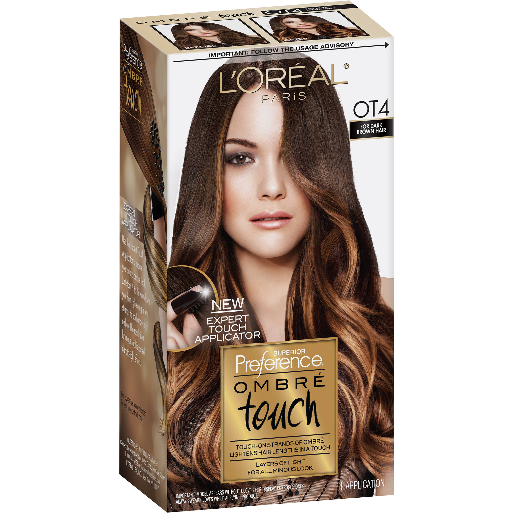 L Oreal Paris Superior Preference Ombre Touch Hair Color