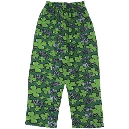 Fun Boxers Feelin' Lucky Pajama Pants for Men (Fun Onesies For Men)