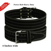 ARD Genuine Leather Power Heavy Duty Weight Lifting Body building Belt Small