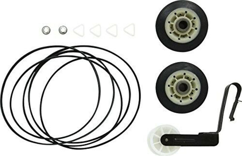 Dryer Drum Roller kit for Whirlpool WED4800XQ1 WED5100VQ1 WED5200VQ1 WED5300VW0