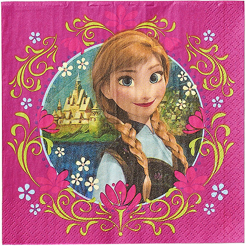 Frozen Magic Paper Lunch Party Napkins, 16ct