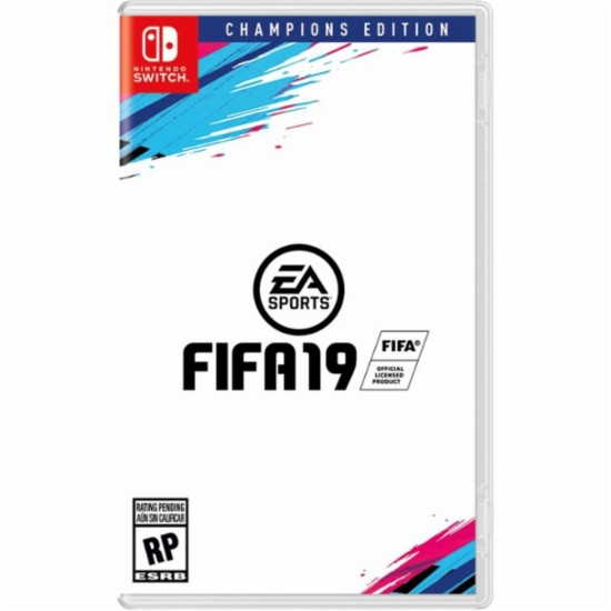 FIFA 19 Champions Edition, Electronic Arts, Nintendo Switch, 014633740080