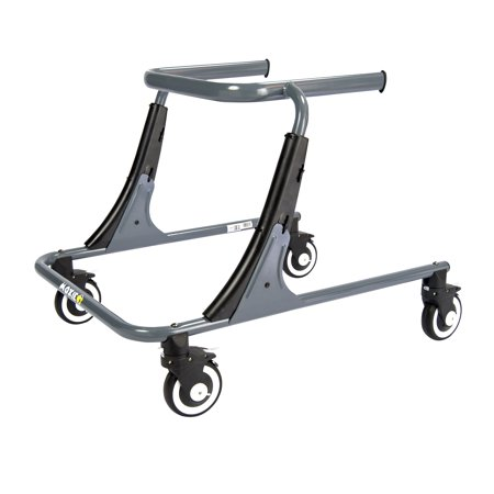 - Inspired by Drive Moxie GT Gait Trainer, Large, Sword Gray
