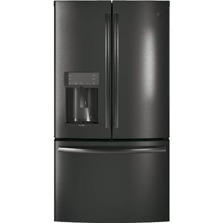 GE Profile Black Stainless Steel PYD22KBLTS 36