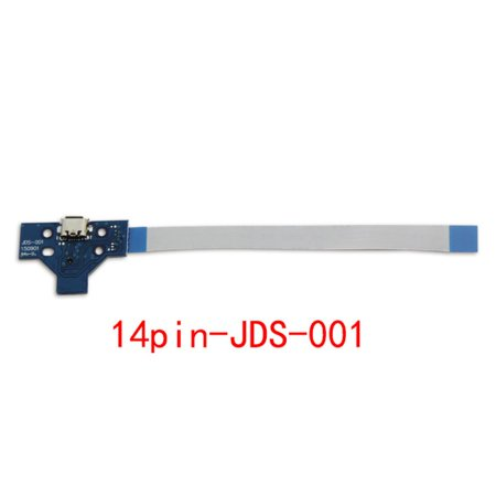 For PS4 Controller Wireless Handle Charging Strip Board JDS-001 to 14 Pin Cable JDS-011 JDS-030 JDS-040 to 12 Pin Cable