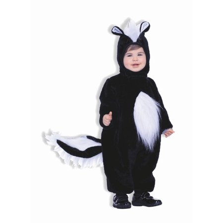 Halloween Infant/Toddler Plush Skunk Costume