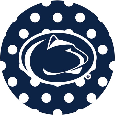 Thirstystone Stoneware Drink Coasters, Penn State University Dots