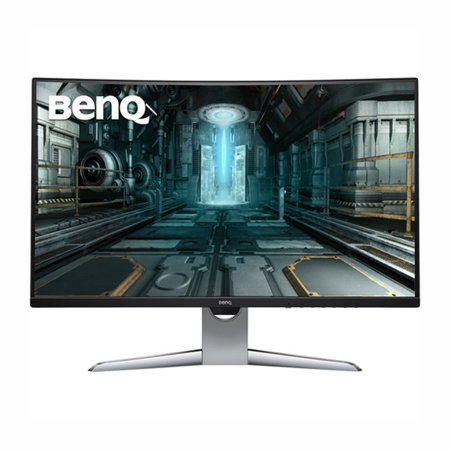 "BenQ 31.5"" Curved Gaming Monitor for Sim Racing, Gray"