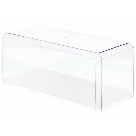 - Clear Acrylic Display Cases (With Mirror) For Large 1:18 Scale Cars - 15.5