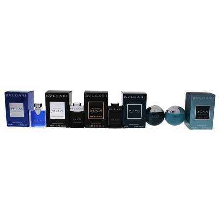 Bvlgari The Mens Gift Collection by Bvlgari for Men - 5 Pc Mini Gift - Mini Gifts