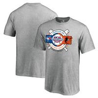 Toronto Blue Jays vs. Baltimore Orioles Fanatics Branded Youth 2017 Opening Series T-Shirt - Heather Gray