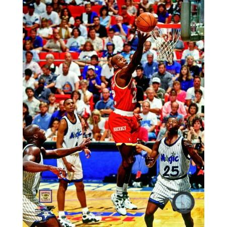 Clyde Drexler Game 2 of the 1995 NBA Finals Action Photo Print
