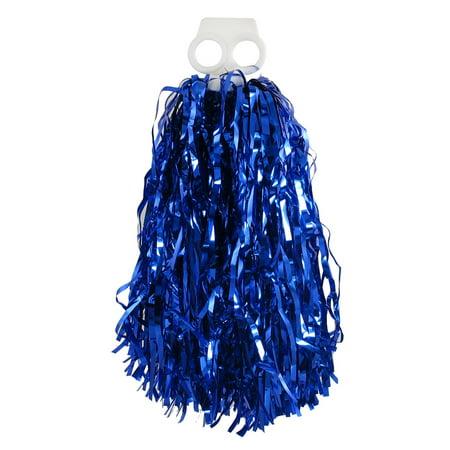 Football Spirit Cheerleader Pompons Cheer Pom Poms Royal Blue Plastic - Pom Poms Cheer
