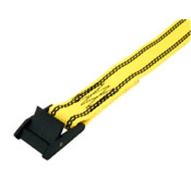 8 ft. Standard Cambuckle Lashing Strap, Yellow - image 1 de 1