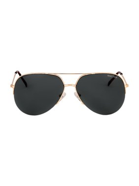 Kenneth Cole Reaction Metal Frame Green Lens Men's Sunglasses KC13076132N