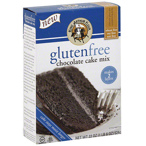 King Arthur Flour Chocolate Cake Mix, 22 oz (Pack of 6)