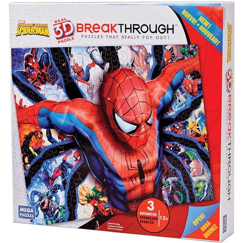 Breakthrough Level Three Spiderman Puzzle 50666