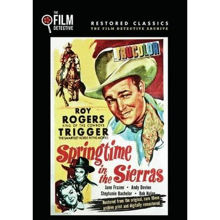 Springtime in the Sierras (DVD)