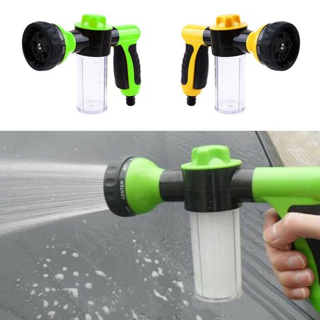 Foam Cannon Sprayer,  High Presure Washer Gun Garden Hose Nozzle ,  for Outdoor Cleaning and Watering Plants, Car Washing, Showering