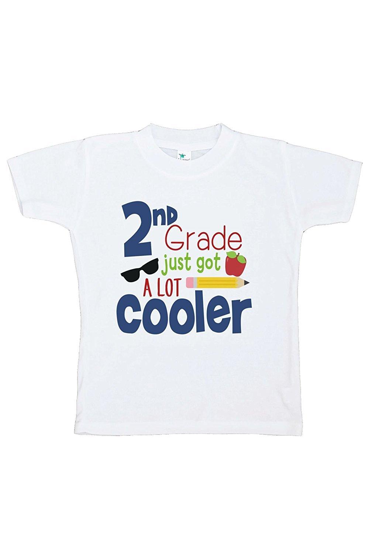 Custom Party Shop Kids 2nd Grade Got Cooler School T-shirt - Large / 14-16