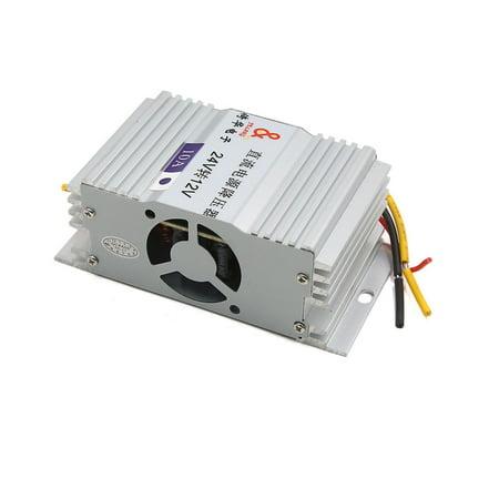 DC 24V Input to 12V Output Step Down Reducer Power Supply Transformer Converter
