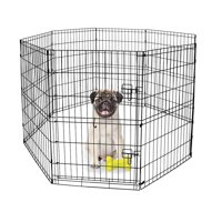 "Vibrant Life 30""H Indoor & Outdoor Pet Exercise Play Pen"
