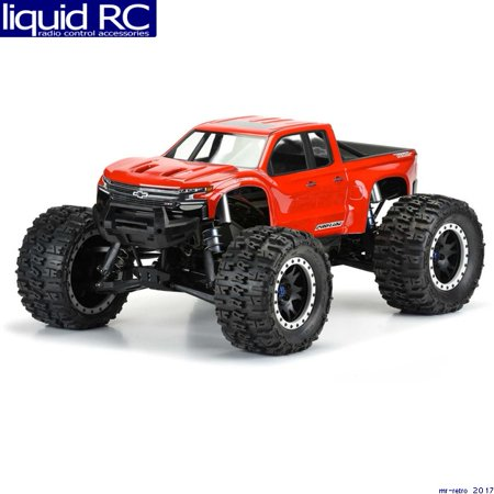 Pro-Line 3507-17 Pre-Cut 2019 Chevy Silverado Z71 Trail Boss Clear Body