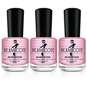 Duri Rejuvacote 1 Original Maximum Strength Nail Growth System Base and Top Coat  - Nails Hardening, Damage Repair, Strengthener, Chipping, Breaking and Brittle Treatment, 3 pack, 0.61 fl.oz. each