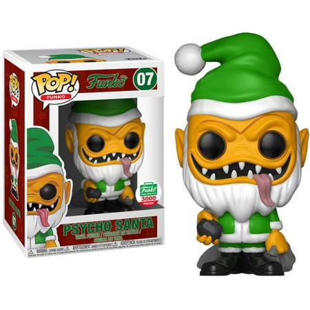 POP! Funko Psycho Santa (Yellow Version) Vinyl Figure [12 Days of