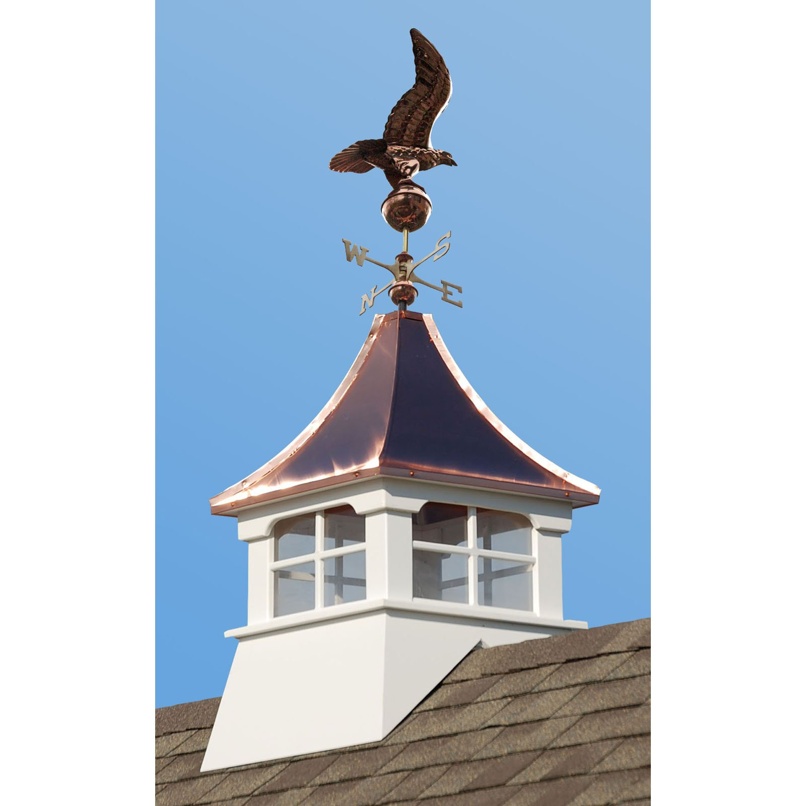 Image of Accentua Charleston Cupola with Eagle Weathervane