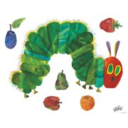 Oopsy Daisy Eric Carle's Very Hungry Caterpillar (TM) - Small Peel and Place Wall Decal