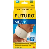 FUTURO Soft Cervical Collar, Adjustable, White