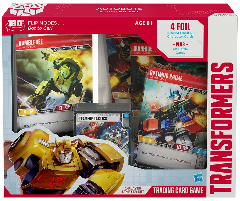 Trading Card Game Base Set Transformers Base Set 2 Player Starter