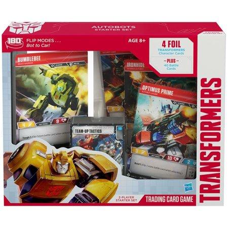 Set Trading Card Game (Trading Card Game Base Set Transformers Base Set 2-Player Starter)