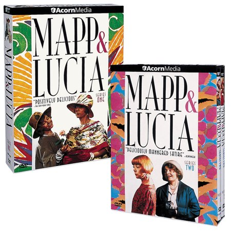 Mapp & Lucia Series 1 and 2: The Complete Series - DVD Boxed