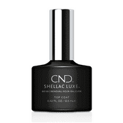 """CND Shellac Luxe 60 Second Removal Gel Polish """"Top Coat"""" 0.42 Oz"""