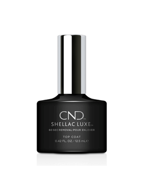 "CND Shellac Luxe 60 Second Removal Gel Polish ""Top Coat"" 0.42 Oz"